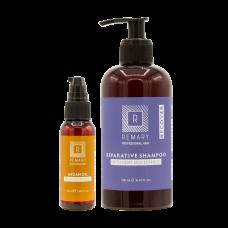 Set reparator pentru păr cu extract din lapte de capră și ulei de argan - Recover - Remary - 2 produse