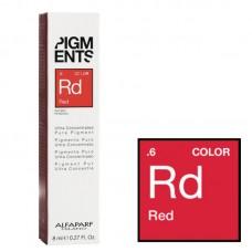 Pigment concentrat rosu - .6 Red - Ultra Concentrated Pure Pigment - Alfaparf Milano - 8 ml