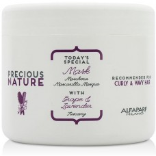Masca hranitoare pentru par cret/ondulat - Mask - Precious Nature - Curly And Wavy Hair - Alfaparf Milano - 500 ml