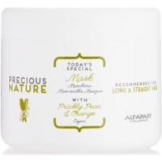 Masca de netezire pentru par drept - Mask - Precious Nature - Long & Straight Hair - Alfaparf Milano - 500 ml