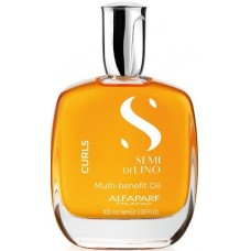 Ulei pentru par cret - Curls Multi-Benefit Oil - Semi Di Lino - Curls - Alfaparf Milano - 100 ml