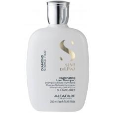 Sampon de stralucire pentru par normal - Illuminating Shampoo - Semi Di Lino - Diamond - Alfaparf Milano - 250 ml