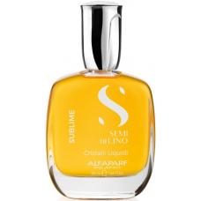 Cristale lichide de iluminare instant pentru toate tipurile de par - Cristalli Liquidi - Semi di Lino - Sublime - All Hair Types - Alfaparf Milano - 50 ml