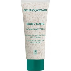 Scrub exfoliant cu pulbere de fosile marine si acid glycolic - Double Body Peel - Body Care - Bruno Vassari - 200 ml