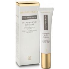 Crema anti-rid nutritiva pentru conturul ochilor - Vitamin Eye Cream - Bruno Vassari - 15 ml