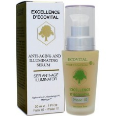 Ser iluminator pentru albire - Anti-Aging And Illuminating Serum - Excellence D'Ecovital - Ecovital - 30 ml