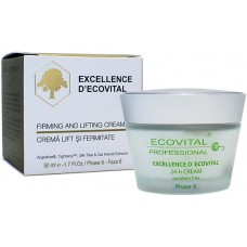 Crema anti-rid pentru lift si fermitate - Firming And Lifting Cream - Excellence D'Ecovital - Ecovital - 50 ml