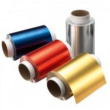 Folie de aluminiu colorata pentru vopsirea parului - Aluminium Foils Colored - Goldwell