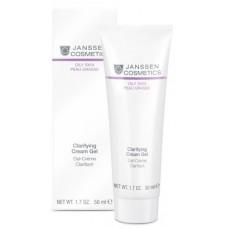 Crema-Gel Purifianta - Clarifying Cream Gel - Oily Skin - Janssen Cosmetics - 50 ml