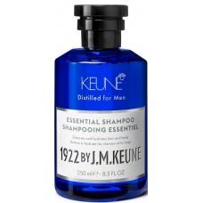 Sampon esential hidratant pentru par, barba si corp - Essential Shampoo - Distilled for Men - Keune - 250 ml
