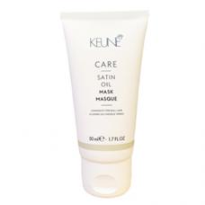 Masca de stralucire si hranire pentru par deshidratat - Satin Oil Mask - Keune - 50 ml