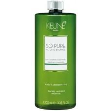 Sampon anti-matreata - Exfoliating Shampoo - So Pure - Keune - 1000 ml