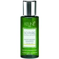 Sampon hidratant - Moisturizing Shampoo - So Pure - Keune - 50 ml