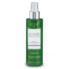 Spray reparator fără clătire pentru păr degradat - Recover Conditioning Spray - So Pure - Keune - 200 ml