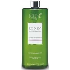 Sampon cu efect de volum pentru parul fin - Shampoo - Volumizing Shampoo - So Pure - Keune - 1000 ml