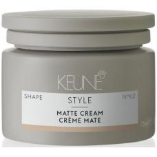 Crema modelatoare pentru par fin si normal - Matte Cream - Style - Keune - 75 ml