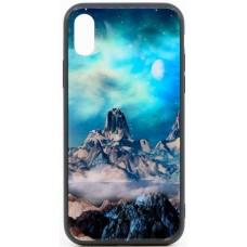 "Husa eleganta ultra-subtire de lux pentru iPhone X, patern - Luxury ultra-thin case for iPhone X, patern ""The mountain fair"""
