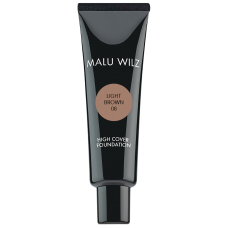 Fond de ten fluid cu acid hialuronic (fara parabeni) - High Cover Foundation - Malu Wilz - 30 ml - Nr. 08