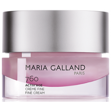 Crema antirid cu celule stem si peptide - 760 - Fine Cream - Active Age - Maria Galland - 50 ml
