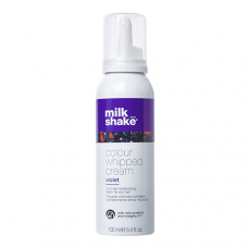 Spuma hidratanta nuantatoare fara clatire - Violet - Colour Whipped Cream - Milk Shake - 100 ml