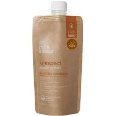Balsam pentru netezirea parului cu keratina - Smoothing Conditioner - K-Respect - Milk Shake - 250 ml