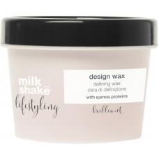 Ceara modelatoare cu fixare flexibila - Design Wax - Lifestyling - Milk Shake - 100 ml