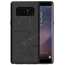 Husa magnetică din silicon mat anti amprentă - Magic Case for Samsung Galaxy Note 8, black - Nillkin