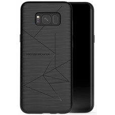 Husa magnetică din silicon mat anti amprentă - Magic Case for Samsung Galaxy S8+, black - Nillkin