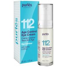 Crema Hidratanta Ochi - 112  Age Control Eye Cream - Eye Contour - Purles - 30 ml