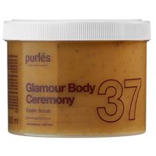 Peeling Gel - 37 Exotic Scrub - Glamour Body Ceremony - Purles - 500 ml