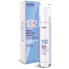 Crema Pentru Ten Gras Sau Acneic - 132 Smart Balance Cream - Pure Rebalancing Ceremony - Purles - 50 ml