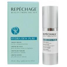 Crema de noapte pentru pielea uscata - Night Cream - Hydra Dew Pure - Repechage - 30 ml