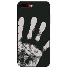 Carcasa termosensibila pentru iPhone 7/8, Negru - Thermosensitive case for iPhone 7/8, Black