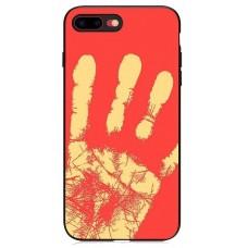 Carcasa termosensibila pentru iPhone 7/8 Plus, Rosu - Thermosensitive case for iPhone 7/8 Plus, Red