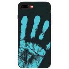 Husa termosensibila pentru OnePlus 6, albastru inchis - Thermosensitive case for OnePlus 6, Dark-Blue