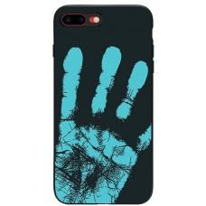 Carcasa termosensibila pentru Samsung Galaxy S7, Albastru inchis - Thermosensitive case for Samsung Galaxy S7, Dark-Blue