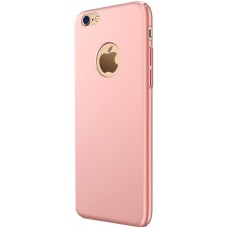 Husa ultra-subtire din fibra de carbon pentru Iphone 7 Plus, Roz Gold - Ultra-thin carbon fiber case for Iphone 7 Plus Rose-Gold