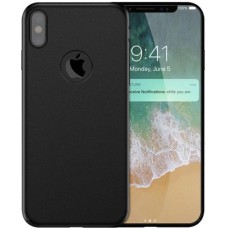Husa ultra-subtire din fibra de carbon pentru iPhone XS, Negru - Ultra-thin carbon fiber case for iPhone XS, Black