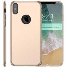 Husa ultra-subtire din fibra de carbon pentru iPhone XS MAX, Gold auriu - Ultra-thin carbon fiber case for iPhone XS MAX, Gold