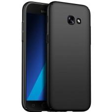 Husa ultra-subtire din fibra de carbon pentru Samsung Galaxy A5 (2017), Negru - Ultra-thin carbon fiber case for Samsung Galaxy A5 (2017), Black