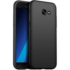 Husa ultra-subtire din fibra de carbon pentru Samsung Galaxy A7 (2017), Negru - Ultra-thin carbon fiber case for Samsung Galaxy A7 (2017), Black