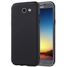 Husa ultra-subtire din fibra de carbon pentru Samsung Galaxy J5 (2017), Negru - Ultra-thin carbon fiber case for Samsung Galaxy J5 (2017), Black