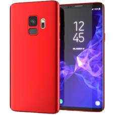Husa ultra-subtire din fibra de carbon pentru Samsung Galaxy S9 Plus, Rosu - Ultra-thin carbon fiber case for Samsung Galaxy S9 Plus, Red