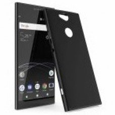 Husa ultra-subtire din fibra de carbon pentru Sony Xperia XA2, Negru - Ultra-thin carbon fiber case for Sony Xperia XA2, Black