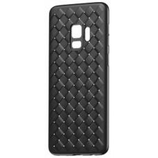 Husa Ultra-Subtire Model Weave pentru Samsung Galaxy S9, Negru - Ultra-thin weave model case for Samsung galaxy S9, Black