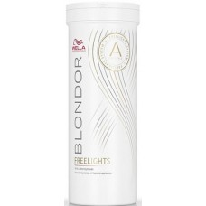 Pudra alba decoloranta pentru tehnicile freehand (balayage) - White Lighetning Powder - Freelights - Blondor - Wella Professionals - 400 g