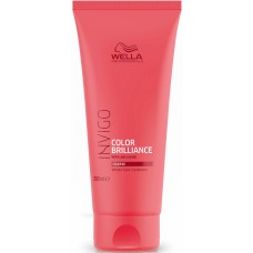 Balsam pentru parul gros vopsit - Vibrant Color Conditioner - Coarse - Invigo Brilliance - Wella - 200 ml