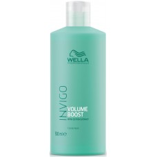 Masca-tratament pentru par fin - Crystal Mask - Invigo Volume Boost - Wella - 500 ml