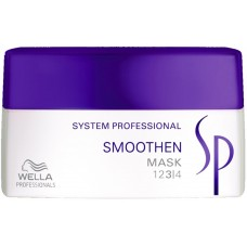 Tratament-masca intensiv pentru par rebel - Mask - Smoothen - SP - Wella - 200 ml